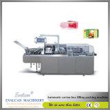 Estuche de cartón de embalaje Automáticas fabricante de máquinas de envoltura