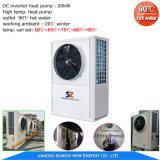 Amb. -20c de Lucht +R410A van het Hete Water R134A van de Afzet van het weer 90c om Warmtepomp Op hoge temperatuur water te geven voor het Verwarmen van de Radiator van het Huis