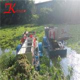 大きい容量の水生Weedの収穫機の浚渫船か船