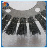 Cepillo de la rueda de carburo de silicio para el pulido