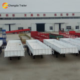 Essieu 3 remorque de cargaison de panneau latéral de mur latéral de 40 tonnes