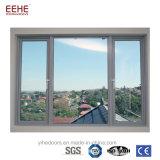 Prix coulissant Philippines de Windows grand en verre en aluminium