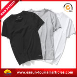 工場販売のブランクの黒のTシャツ