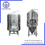 SUS304 conique/SUS316L fermenteur / cuve de fermentation / Navires 500L 800L 1000L 1500L 2000L 3000L