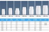 80ml 안전은 환약, 정제, 캡슐, 비타민 포장을%s HDPE 플라스틱 병을 캡핑한다