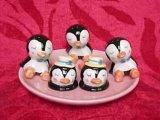 Desservant Accessoires - Les titulaires de Penguin baguettes