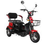 大人および子供のための複座機の電気三輪車
