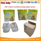 O bebê descartável de Stocklot da absorção elevada do preço do competidor da alta qualidade arfa o fabricante do tecido de China