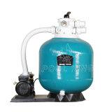 Filtre à sable en fibre de verre avec système de filtration de la pompe de piscine