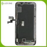 L'écran LCD de téléphone mobile d'OEM le plus neuf pour l'iPhone X, écran tactile LCD pour l'iPhone X avec la garantie