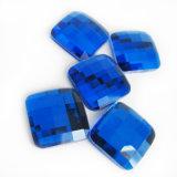 La Plaza cristal abalorios posterior plana de cristal y accesorios para la Joyería de piedras preciosas