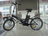 中断フォークが付いているPedelecバージョン小型折るEバイク