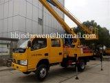 Dongfeng DFAC 12mの販売のための空気のプラットホームのトラック