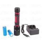 Refillable 20W Aluminum LED Flashlight (11-1SH1706 26650)