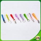 Kundenspezifisches Gummisilikon Keychain mit Firmenzeichen