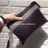 Bolsas de couro PU Messenger carteira da Embreagem Saco com alça de corrente