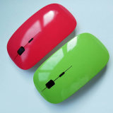 Beste verkaufende ultradünne drahtlose Maus 2.4G für Laptop-Mac-Computer USB