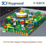Самомоднейшее крытое оборудование спортивной площадки, роскошная земля игры детей