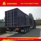 Axel 3 40 Tonnen Kasten-Hochleistungsspur-Sattelschlepper-Lieferanten-
