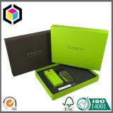 Caixa de empacotamento cosmética do presente de papel rígido do protetor da espuma