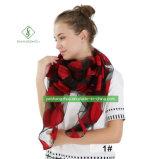 Продажи на скользких Organza горячей резки шаль леди мягкой моды Шарфа