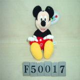 Mickey Mouse drôle et jouet de peluche de Minnie