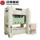 máquina de perfuração da série de 630ton Jw36 com tela de toque e o controlador giratório da came