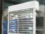 縦のパソコンのローラーシャッター透過水晶圧延のポリカーボネートはドアを転送する