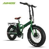Faltbares E Fahrrad des neuen Aufhebung-Gabel-fetten Gummireifen-