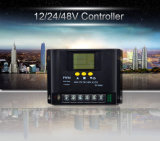 Гуанчжоу солнечного контроллера поставщика 12V 24V 40A ШИМ ЖК-дисплей контроллера заряда солнечной энергии