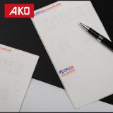 escrituras de la etiqueta de envío blancas impermeables de la escritura de la etiqueta de direccionamiento del trazador de líneas del papel cristal del trazador de líneas azul del papel cristal 60g