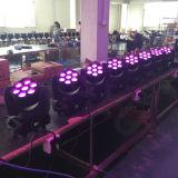 Colada principal móvil 7X10W del zoom de la luz de la viga del LED