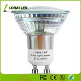110-240 V GU10 MR16 AC/DC 12V de 3,5 W FOCO LED de vidrio