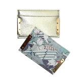 Lcq-0135 Diseño exclusivo de dar obsequios impresión Monedero Monedero moneda titular de la tarjeta de crédito para dama