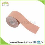 Cada embalaje de algodón Deporte Kinesiología el alivio del dolor la cinta con certificado CE