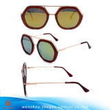2017 óculos de sol quentes da parte superior lisa da venda