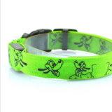 Commerce de gros de produits pour animaux de compagnie lumineux à LED Collier pour chien Pet en nylon