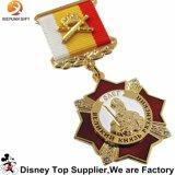 Medaglia del premio del metallo di produzione della fabbrica della Cina con l'aquila
