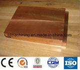 T1, T2 Cu99 % dela plaque de cuivre