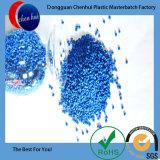 Masterbatch azul de PP/PE pellets de plástico/borracha Masterbatch reciclado