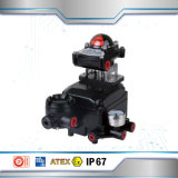 Eletro Positioner pneumático para a válvula de esfera