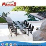 Moderne Freizeit-Speisetisch-gesetzte Garten-Möbel-im Freien speisendes Pool-Tisch-Sofa