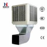 18000м3/ч большой объем воздуха в комнате на верхнем этаже промышленного охладителя нагнетаемого воздуха при испарении