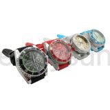 Smerigliatrice del metallo dell'orologio di marca della parte superiore di stile del signore per il tabagismo all'ingrosso (ES-GD-029)