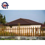 Fehlerfreier Widerstand-Baumaterial-Stein-überzogene MetallNosen Dach-Fliese