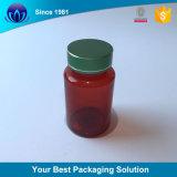 100/150/175ml animais de produtos de cuidados de saúde de plástico coloridas Garrafa com tampa de alumínio para comprimidos