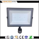 la luz de inundación de la pista LED del sensor 10With20With30With50With100With150W IP65 adelgaza el reflector del LED
