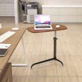 高さの調節可能な木の折るラップトップの机