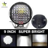 CREE Auto Parts 9pulgadas negro foco LED Lámpara de conducción off road luz LED de trabajo con 96W 185W