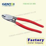 Cortador manual do cabo da catraca para o cabo de cobre e cabo blindado